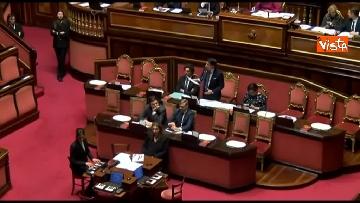 10 - Conte, question time in aula Senato immagini