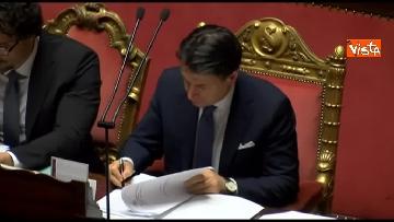 5 - Conte, question time in aula Senato immagini