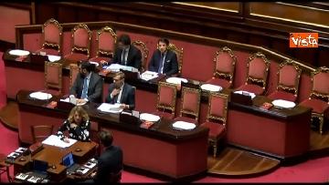 4 - Conte, question time in aula Senato immagini