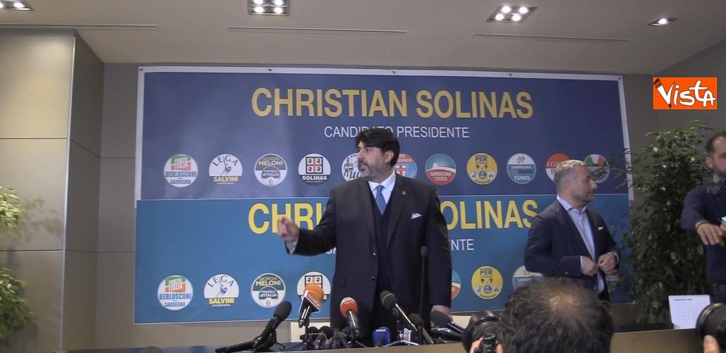 Il neo presidente della Regione Sardegna Christian Solinas _04