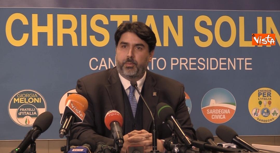Il neo presidente della Regione Sardegna Christian Solinas _02