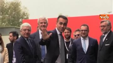 2 - Conte e Di Maio in visita allo stabilimento Leonardo di Pomigliano d'Arco (NA)