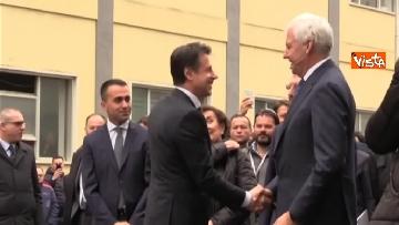 5 - Conte e Di Maio in visita allo stabilimento Leonardo di Pomigliano d'Arco (NA)