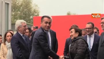 1 - Conte e Di Maio in visita allo stabilimento Leonardo di Pomigliano d'Arco (NA)