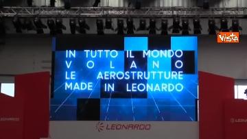 9 - Conte e Di Maio in visita allo stabilimento Leonardo di Pomigliano d'Arco (NA)