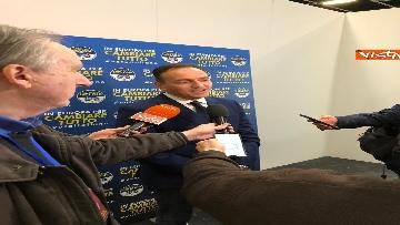 1 - Il candidato del centrodestra in Piemonte Alberto Cirio partecipa al congresso FdI