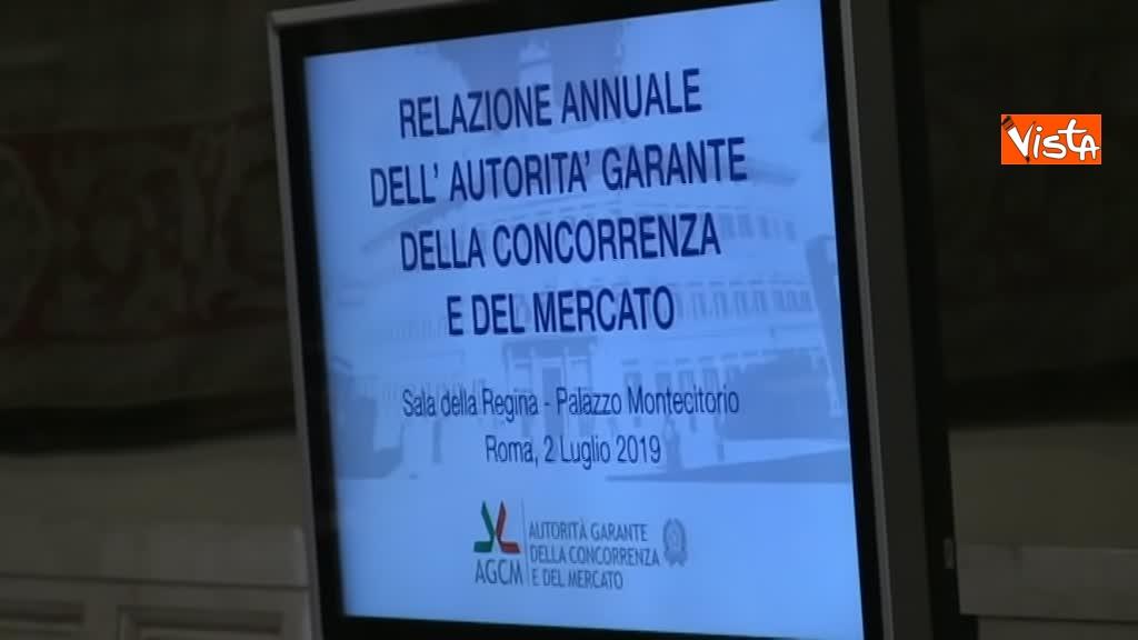 02-07-19 Antitrust il rapporto annuale a Montecitorio immagini