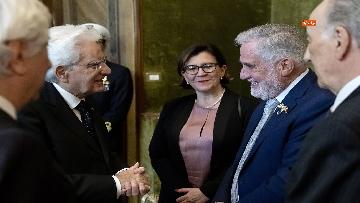 2 - Mattarella incontra gli esponenti delle Associazioni Combattentistiche e d'Arma