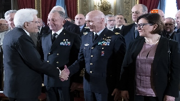 3 - Mattarella incontra gli esponenti delle Associazioni Combattentistiche e d'Arma