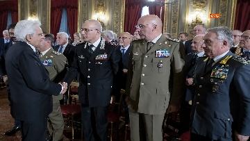 5 - Mattarella incontra gli esponenti delle Associazioni Combattentistiche e d'Arma
