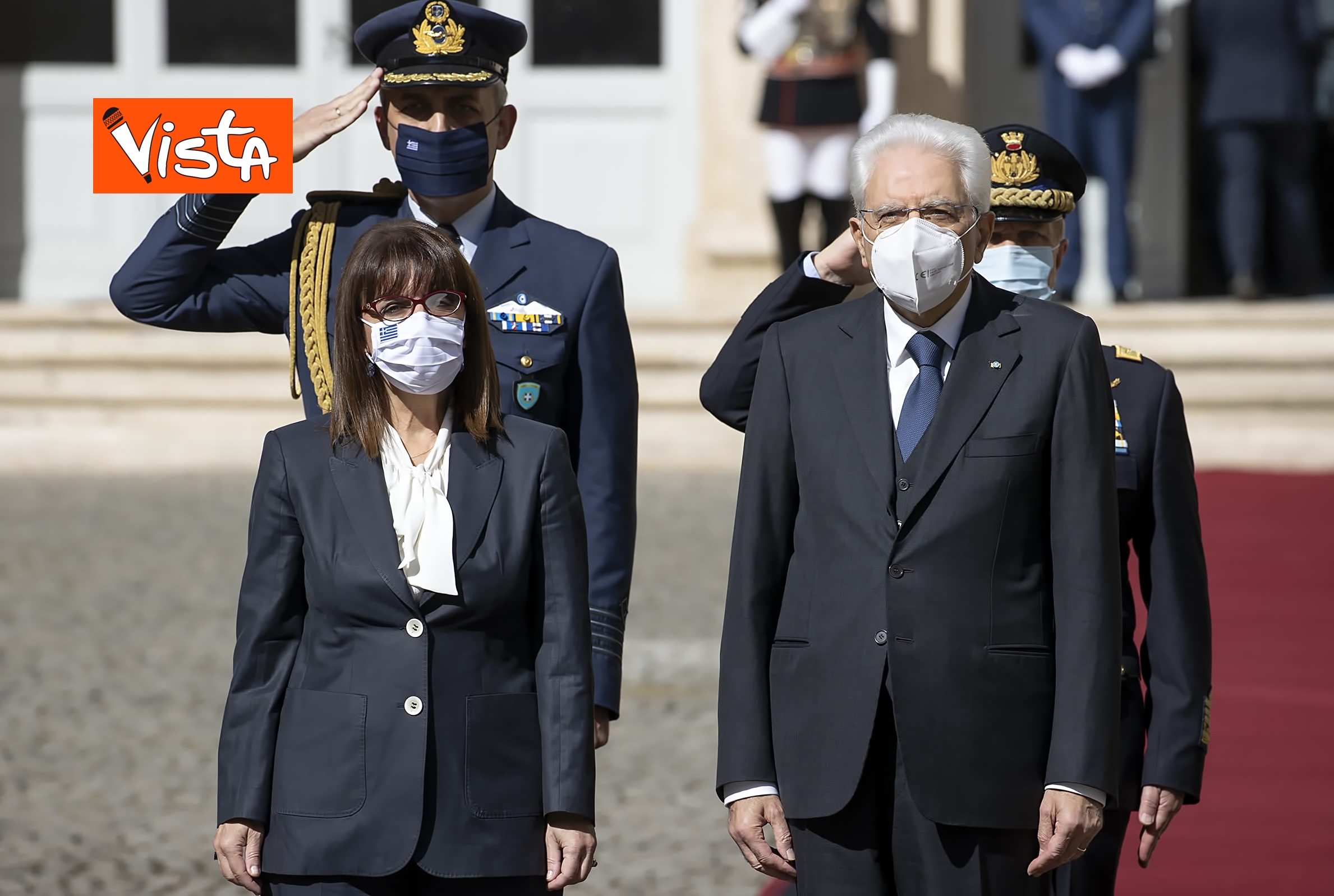 09-10-20 Mattarella riceve la Presidente della Repubblica Ellenica Sakellaropoulou, le immagini_03