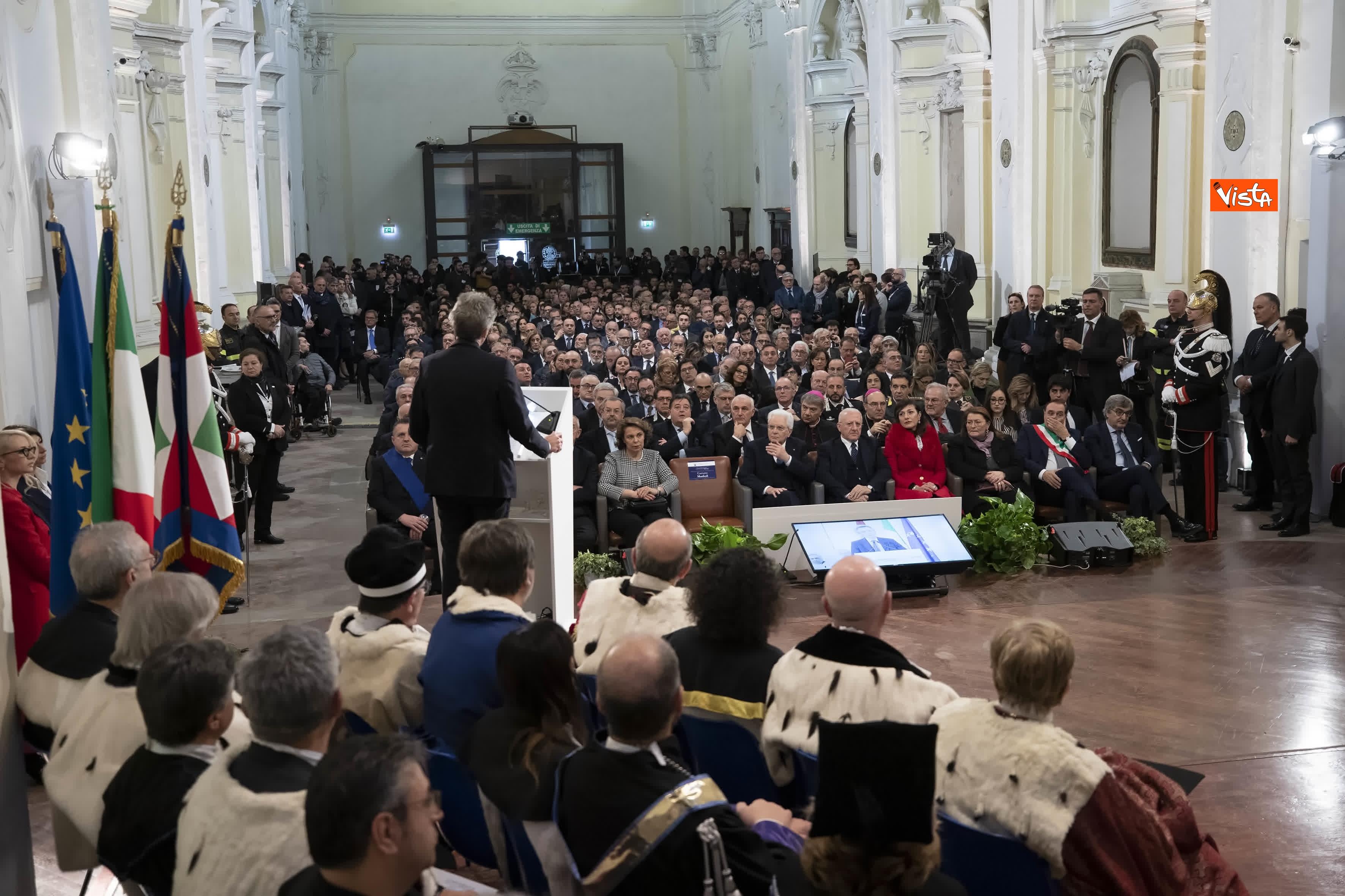 28-01-20 Mattarella all inaugurazione dell Anno Accademico 2019-2020 dell Universita del Sannio_07