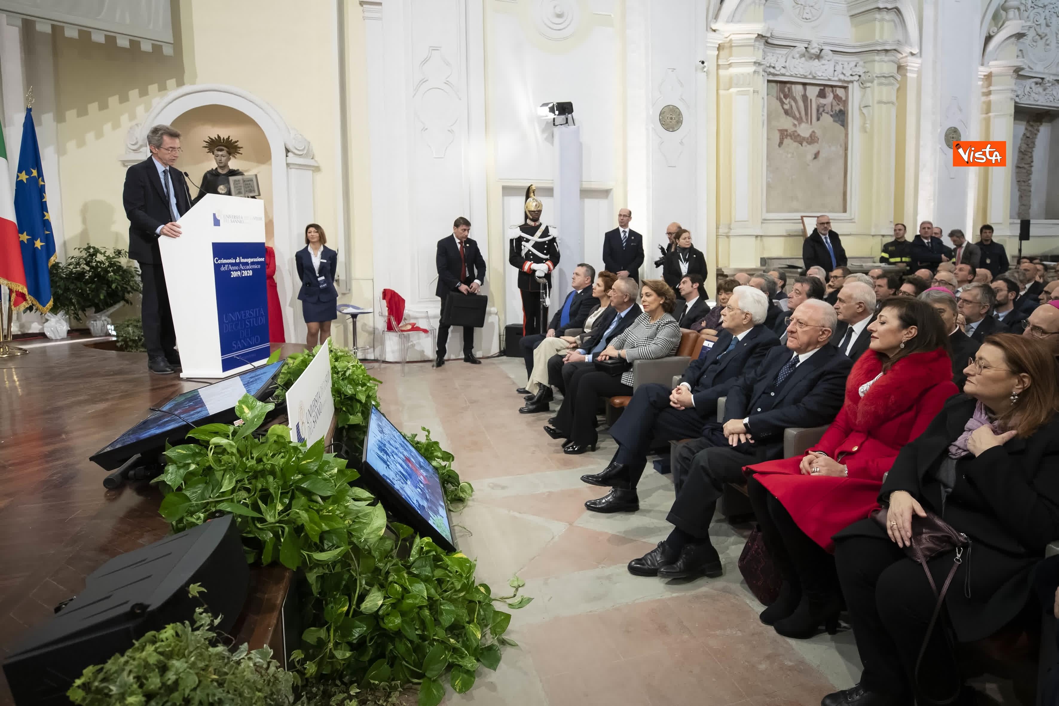 28-01-20 Mattarella all inaugurazione dell Anno Accademico 2019-2020 dell Universita del Sannio_06