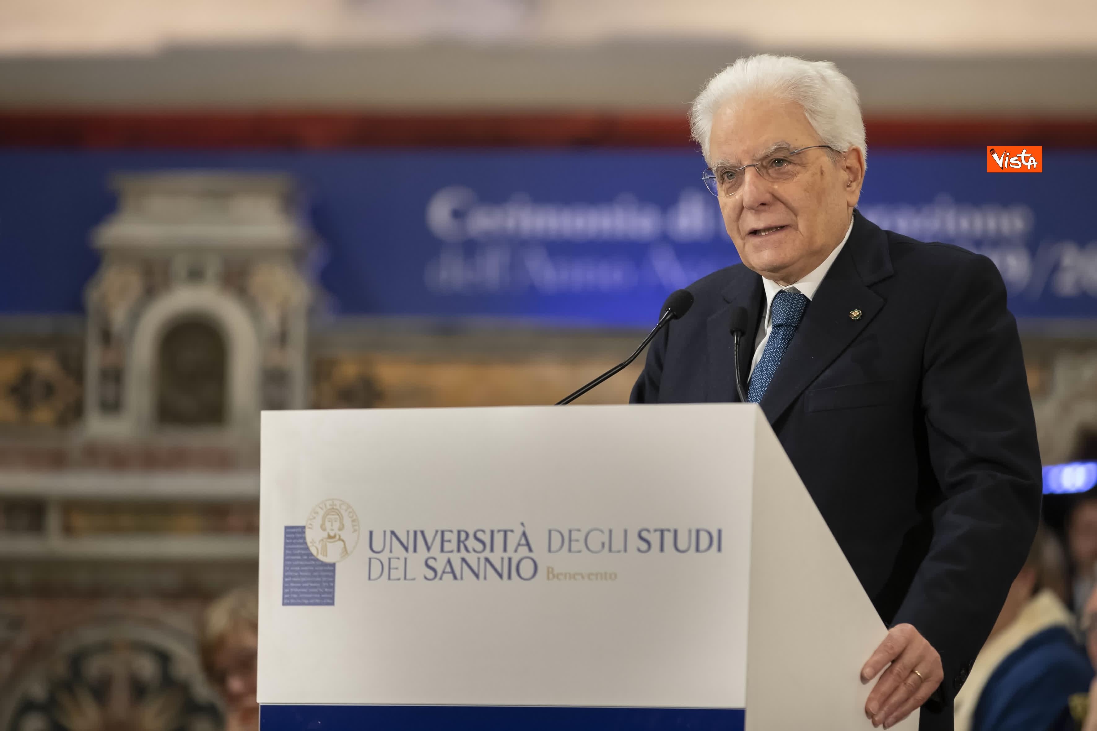 28-01-20 Mattarella all inaugurazione dell Anno Accademico 2019-2020 dell Universita del Sannio_09