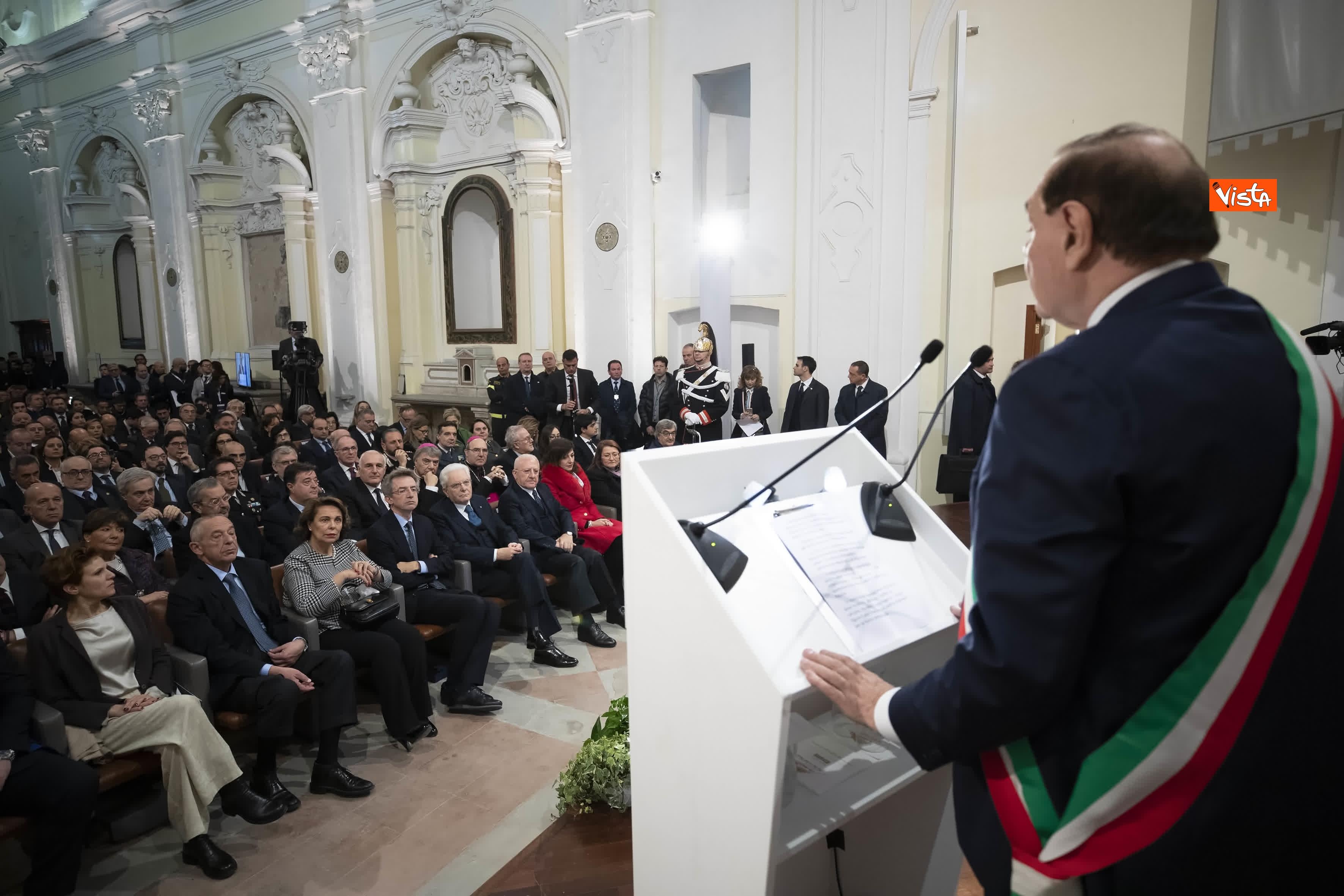 28-01-20 Mattarella all inaugurazione dell Anno Accademico 2019-2020 dell Universita del Sannio_05
