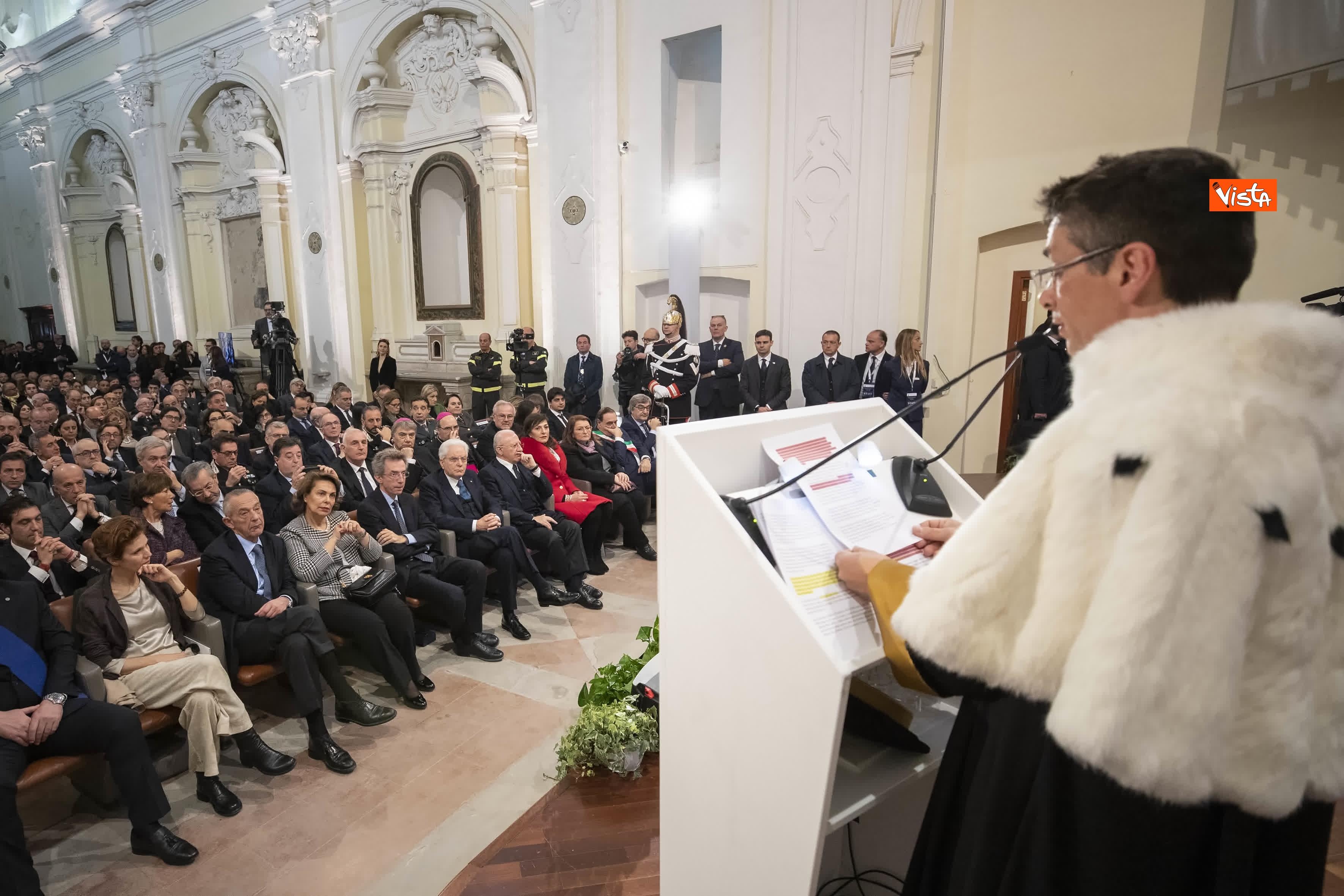 28-01-20 Mattarella all inaugurazione dell Anno Accademico 2019-2020 dell Universita del Sannio_08