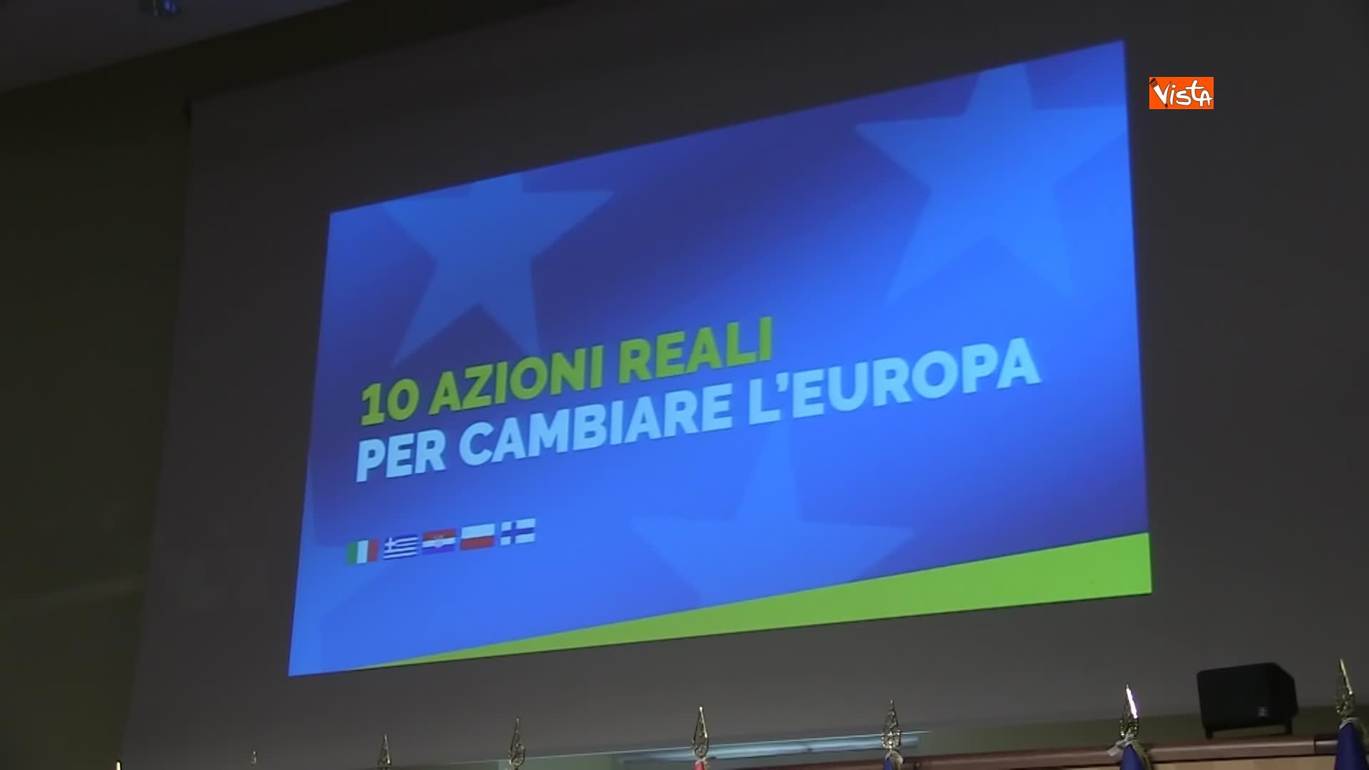 15-02-19 Di Maio presentra il manifesto per le elezioni europee. immagini 01_463025337695083453568