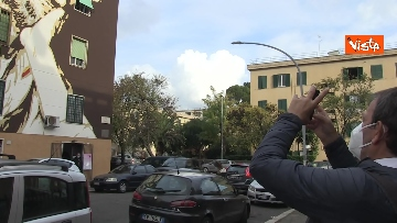 3 - Gigi Proietti sui muri di Roma. I murales omaggio all'attore in giro per la città