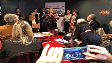 3 - #StavoltaVoto la campagna per sensibilizzare al voto per le elezioni europee, la presentazione alla Festa del Cinema di Roma