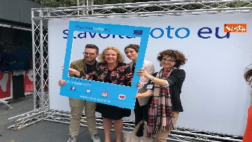 14 - #StavoltaVoto la campagna per sensibilizzare al voto per le elezioni europee, la presentazione alla Festa del Cinema di Roma