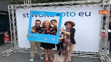 13 - #StavoltaVoto la campagna per sensibilizzare al voto per le elezioni europee, la presentazione alla Festa del Cinema di Roma