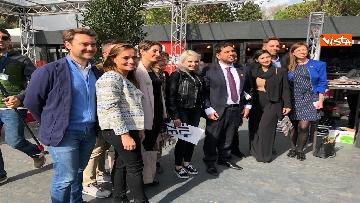 16 - #StavoltaVoto la campagna per sensibilizzare al voto per le elezioni europee, la presentazione alla Festa del Cinema di Roma