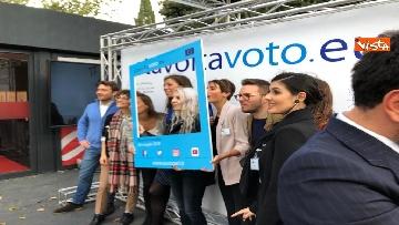 20 - #StavoltaVoto la campagna per sensibilizzare al voto per le elezioni europee, la presentazione alla Festa del Cinema di Roma