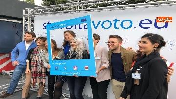 19 - #StavoltaVoto la campagna per sensibilizzare al voto per le elezioni europee, la presentazione alla Festa del Cinema di Roma