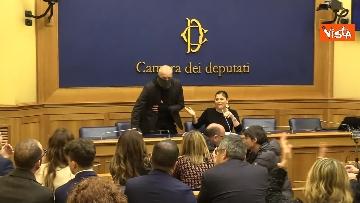 5 - Jole Santelli presenta il nuovo Assessore all'Ambiente della Calabria 'Capitano Ultimo', le immagini