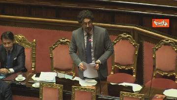 4 - Mozione sfiducia per Toninelli al Senato, le immagini dell'Aula