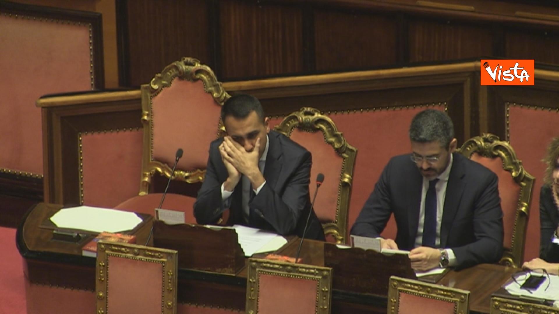 21-03-19 Mozione sfiducia per Toninelli al Senato le immagini dell Aula_il vicepresidente del Cosiglio Luigi Di Maio 09