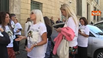 9 - #IoStoConSalvini, senatori Lega in piazza per esprimere solidarietà a ministro dell'Interno