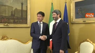 2 - Conte incontra Fico e Casellati
