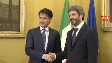 3 - Conte incontra Fico e Casellati