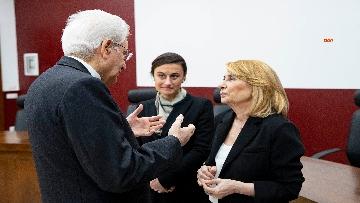5 - Mattarella alla cerimonia di intitolazione dell'Aula XIII a Massimo D'Antona.