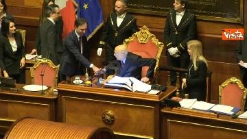 2 - Napolitano apre la prima seduta del Senato