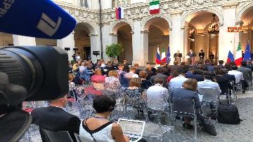 3 - La conferenza stampa congiunta di Putin e Conte