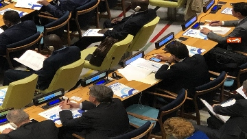 3 - Conte partecipa a convegno Onu 'High-level Event on Action for Peacekeeping'
