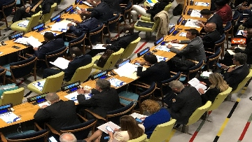 2 - Conte partecipa a convegno Onu 'High-level Event on Action for Peacekeeping'