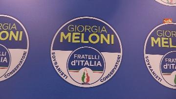 4 - Conferenza stampa Fratelli d'Italia per le elezioni suppletive, le immagini
