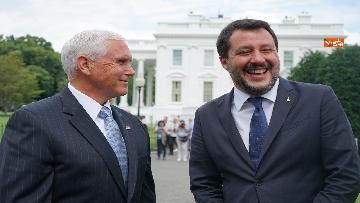 3 - Salvini incontra Mike Pence
