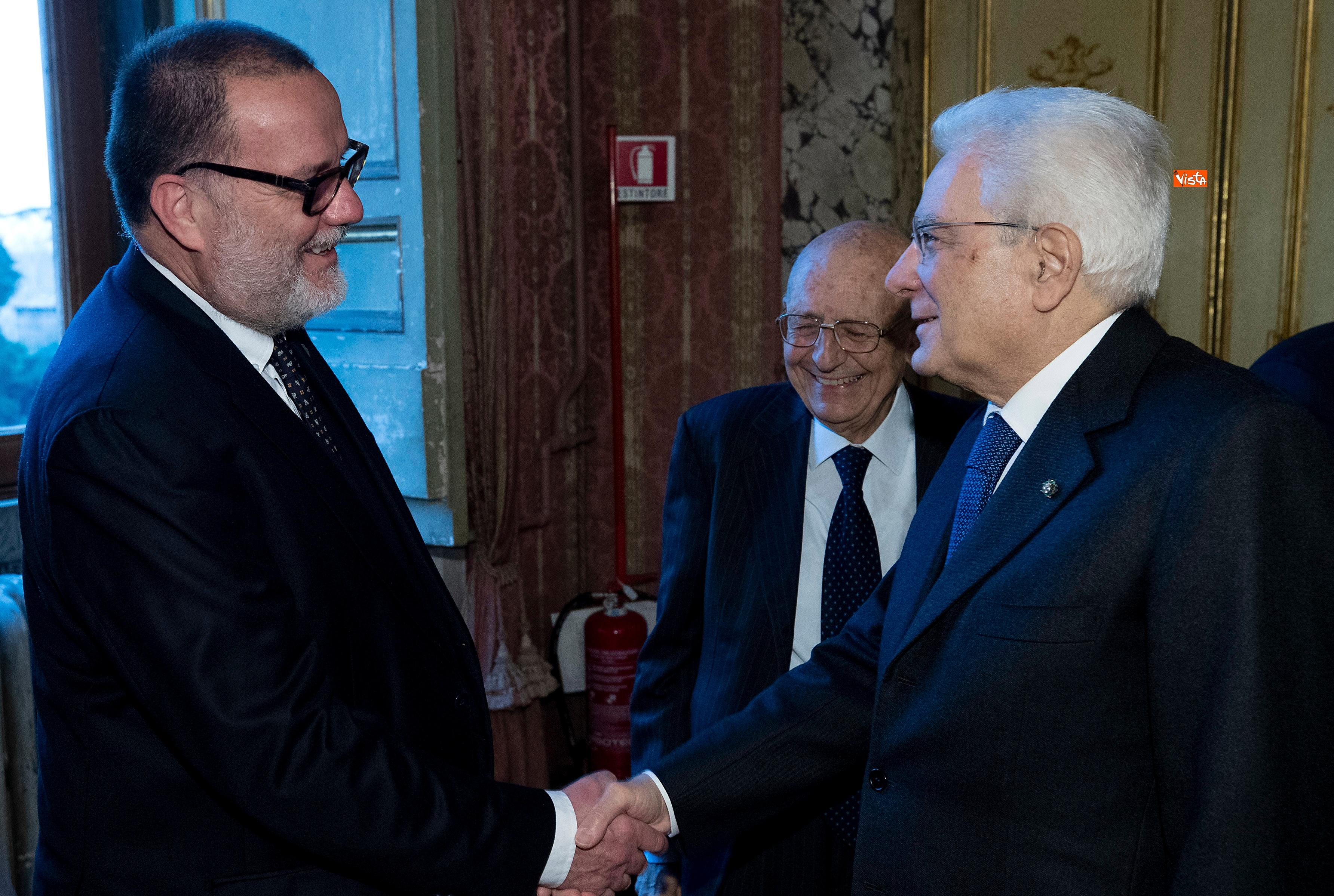 Il Presidente Mattarella all'Accademia dei Lincei