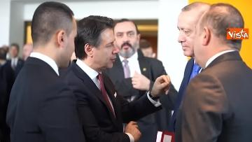 4 - Libia, Merkel accoglie Conte e Di Maio alla Conferenza di Berlino
