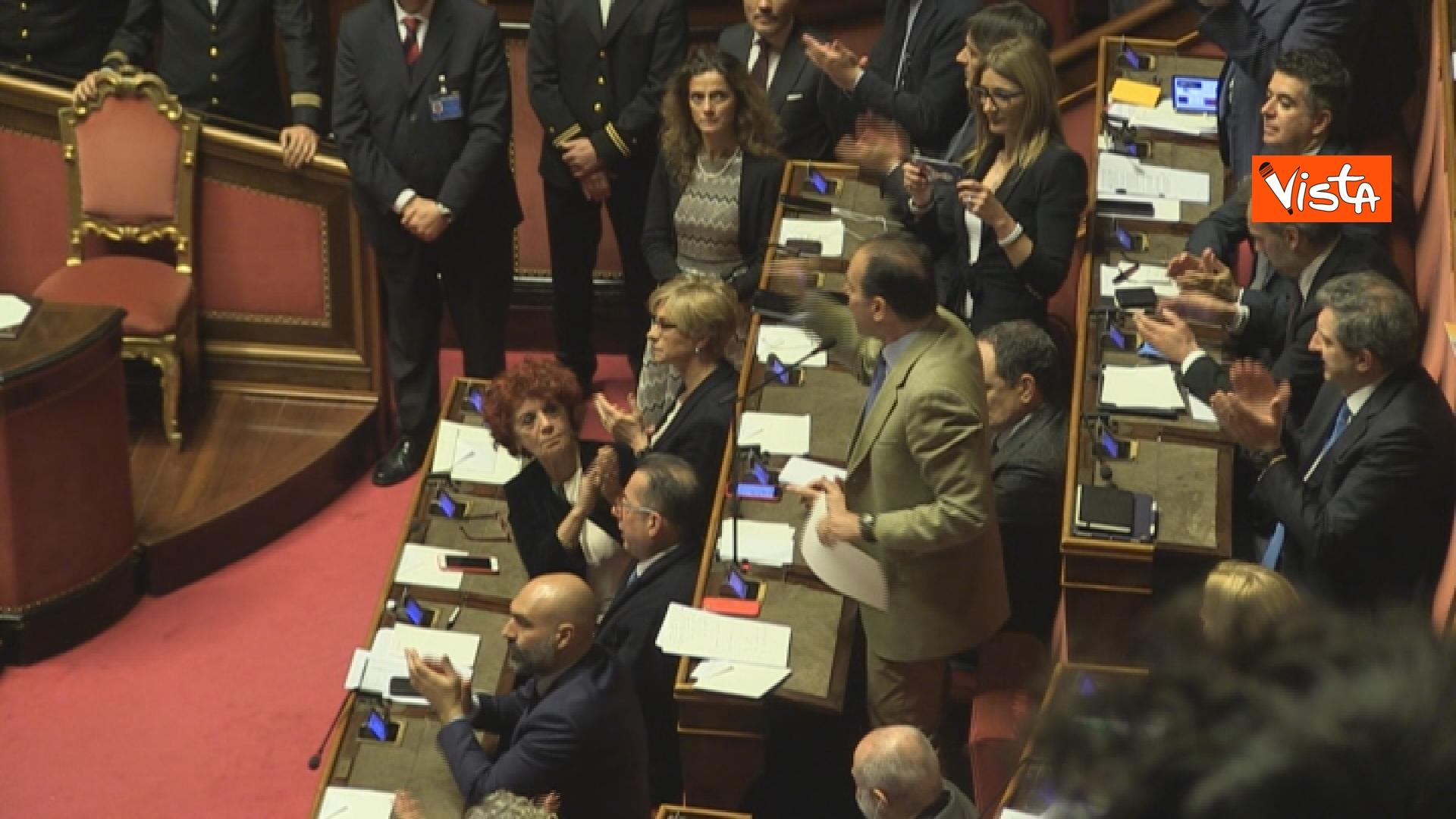 21-03-19 Mozione sfiducia per Toninelli al Senato le immagini dell Aula_il capogruppo del Pd Andrea Marcucci 06