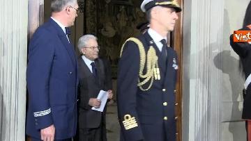 2 - Mattarella al termine delle consultazioni comunica l'esito dei colloqui alla stampa immagini