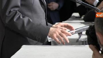 4 - Mattarella al termine delle consultazioni comunica l'esito dei colloqui alla stampa immagini