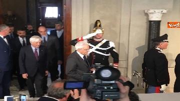 12 - Mattarella al termine delle consultazioni comunica l'esito dei colloqui alla stampa immagini