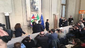 9 - Mattarella al termine delle consultazioni comunica l'esito dei colloqui alla stampa immagini