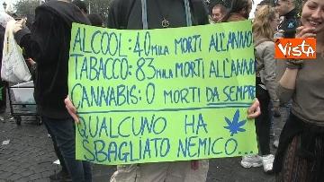 1 - Million marijuana march, il corteo per la legalizzazione della cannabis per le strade di Roma