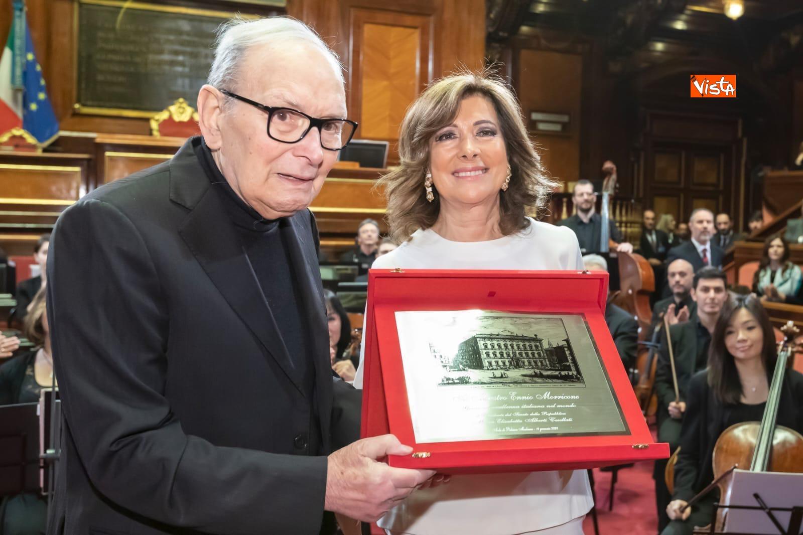 Ennio Morricone, Maria Elisabetta Alberti Casellati
